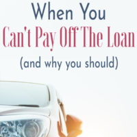 Should I Get a Personal Loan To Pay Off My Car?