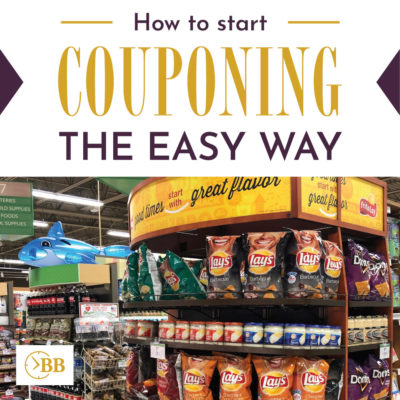 How to start couponing and saving a ton of money on groceries.