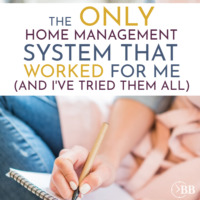 The Only Home Management System That Worked For Me.