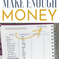 Income Problem: What to Do When You Don't Make Enough Money.