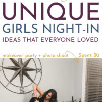 Girls Night In Ideas: $0 Make-Over Party and other Fun Party Ideas for Women