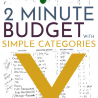 Simple Budget Categories (For Every Budget)