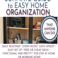 Home Organization: The Complete Guide.