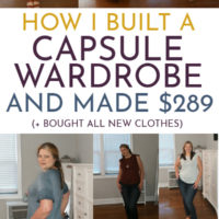 Capsule Wardrobe: A Realistic Guide For Any Budget.