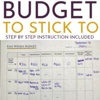 Easy Budget Binder Step By Step: Just 2 Minutes a Day!