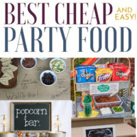 Cheap Easy Party Food Ideas For The Ultimate Budget Party.