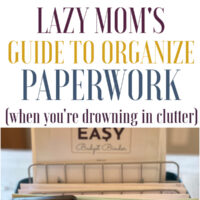 The Best Paper Organization System (If you're drowning in clutter).