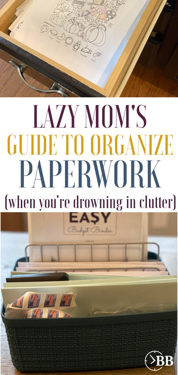A homeade budget box, the ultimate paper organization system.the best system for