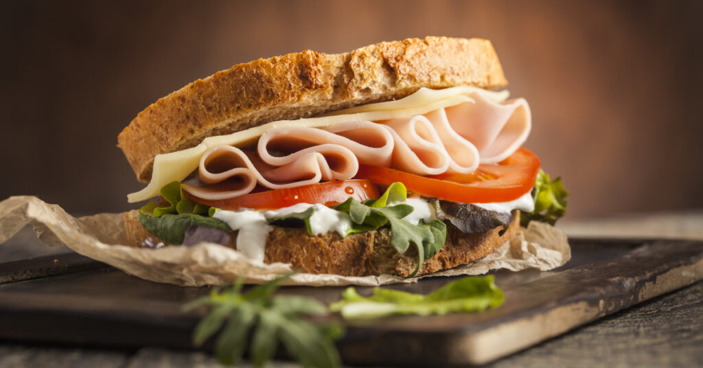 Sandwich picnic meal ideas