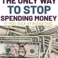 How to stop spending money.