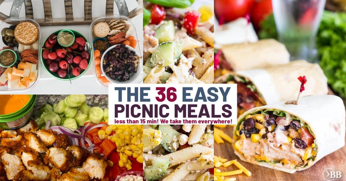 5 outside the box picnic meals ideas