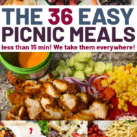 Easy Picnic Meal Ideas.